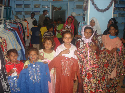 Distribution of Clothes